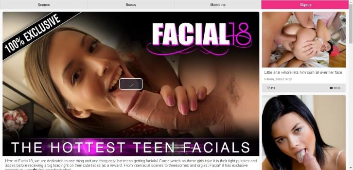 Facial18 - SiteRip