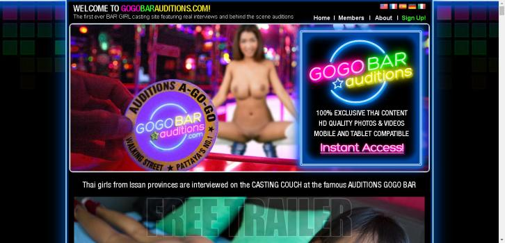 GogoBarAuditions - HD SiteRip